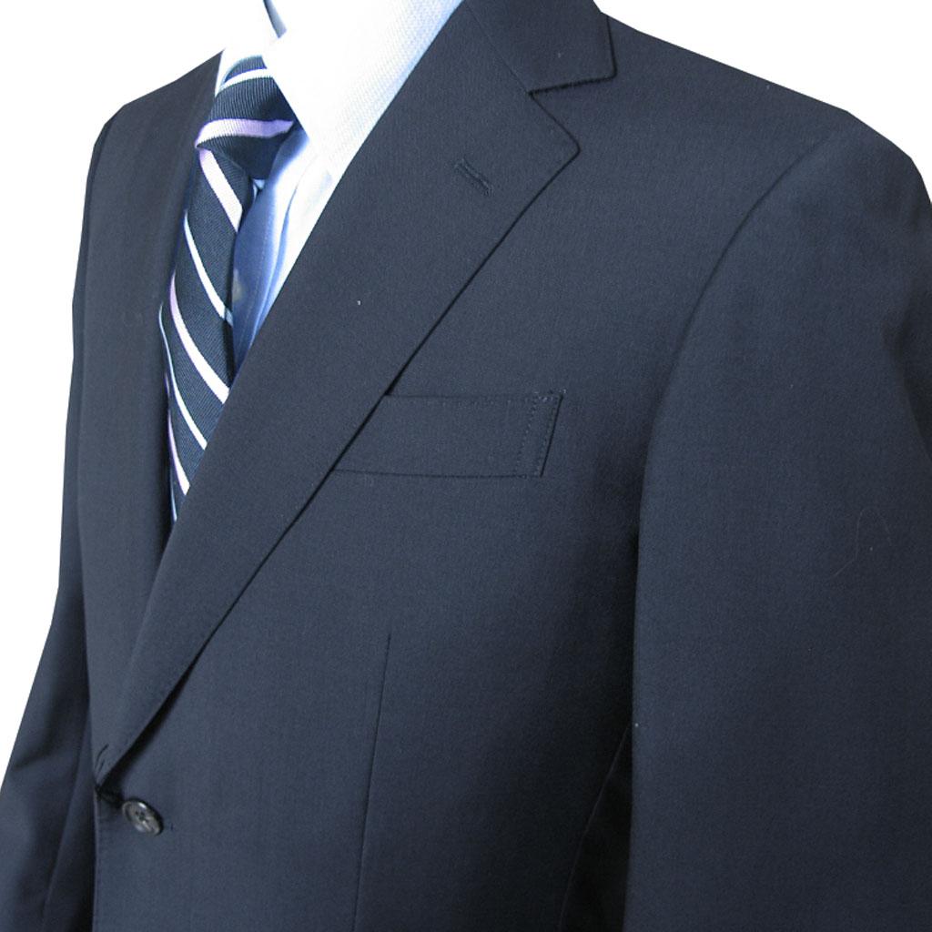 Ermenegildo Zegna(エルメネジルド ゼニア) スーツ 2つボタン シングルスーツ メンズ 春夏 紺無地 ネイビー 4888 A5 AB3 AB4 AB7 AB8 BB3 BB4 BB5