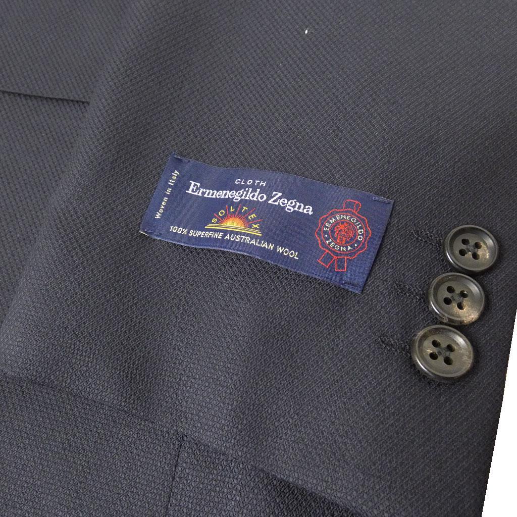 Ermenegildo Zegna(エルメネジルド ゼニア) ジャケット メンズ 春夏 2つボタン ネイビー 1288 AB7 AB8 BB4 BB8