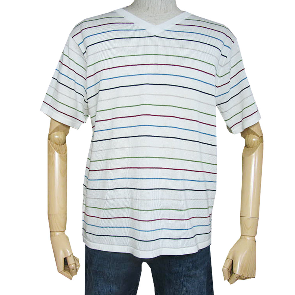メンズ 半袖 Tシャツ  CARRARA ニット サマーセーター L