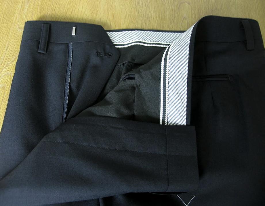 MIYUKI(ミユキ)の春夏2つボタンスーツ 紺無地 0013  AB6 BB4