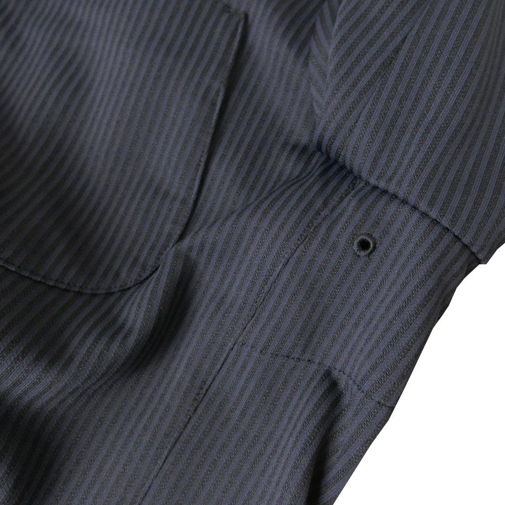 【お取り寄せ】 second style(セカンドスタイル) 春夏秋 スーツ ネイビーストライプ 5188  【テレワーク】M L LL
