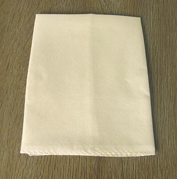 ポケットチーフ メンズ フォーマル用 ベージュ系 メール便送料無料