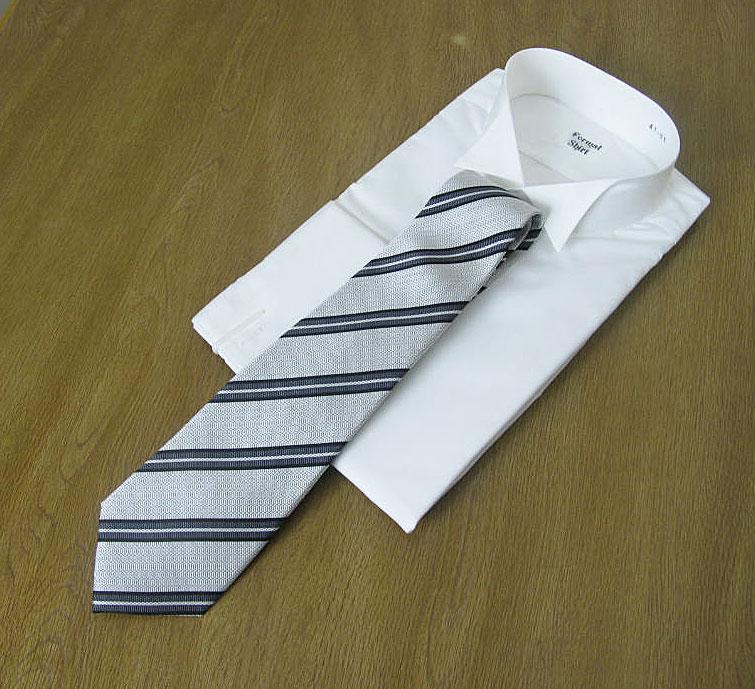 モーニング用礼装ネクタイ Y01  メール便送料無料