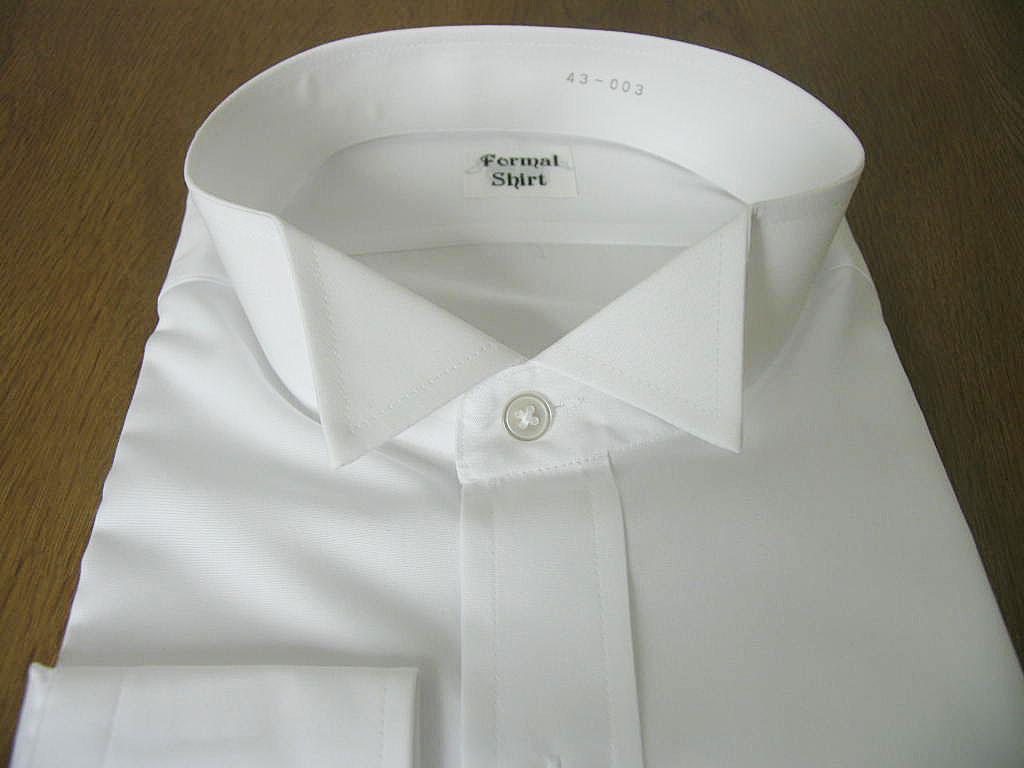 モーニング、タキシード用のウィングカラーシャツ