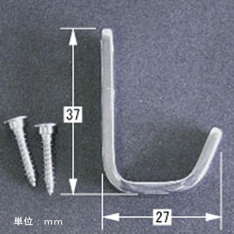 ステンレス角型Jフック