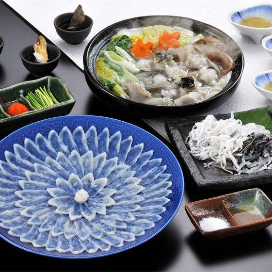 天然ふく料理コース(3人前)