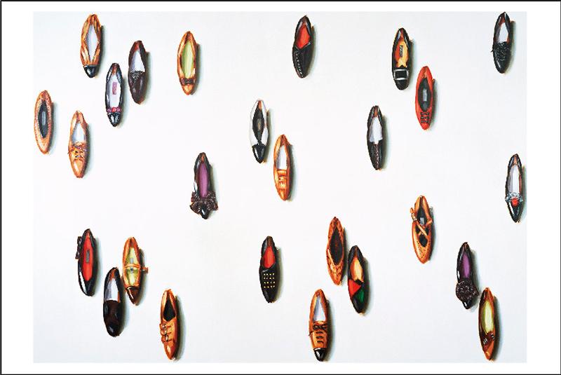 ポストカード リサ・ミルロイ《靴》
