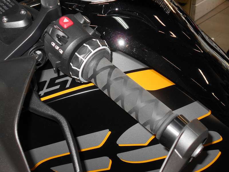 BMWモーターサイクル用ハンドルグリップラバー保護チューブ/3タイプ