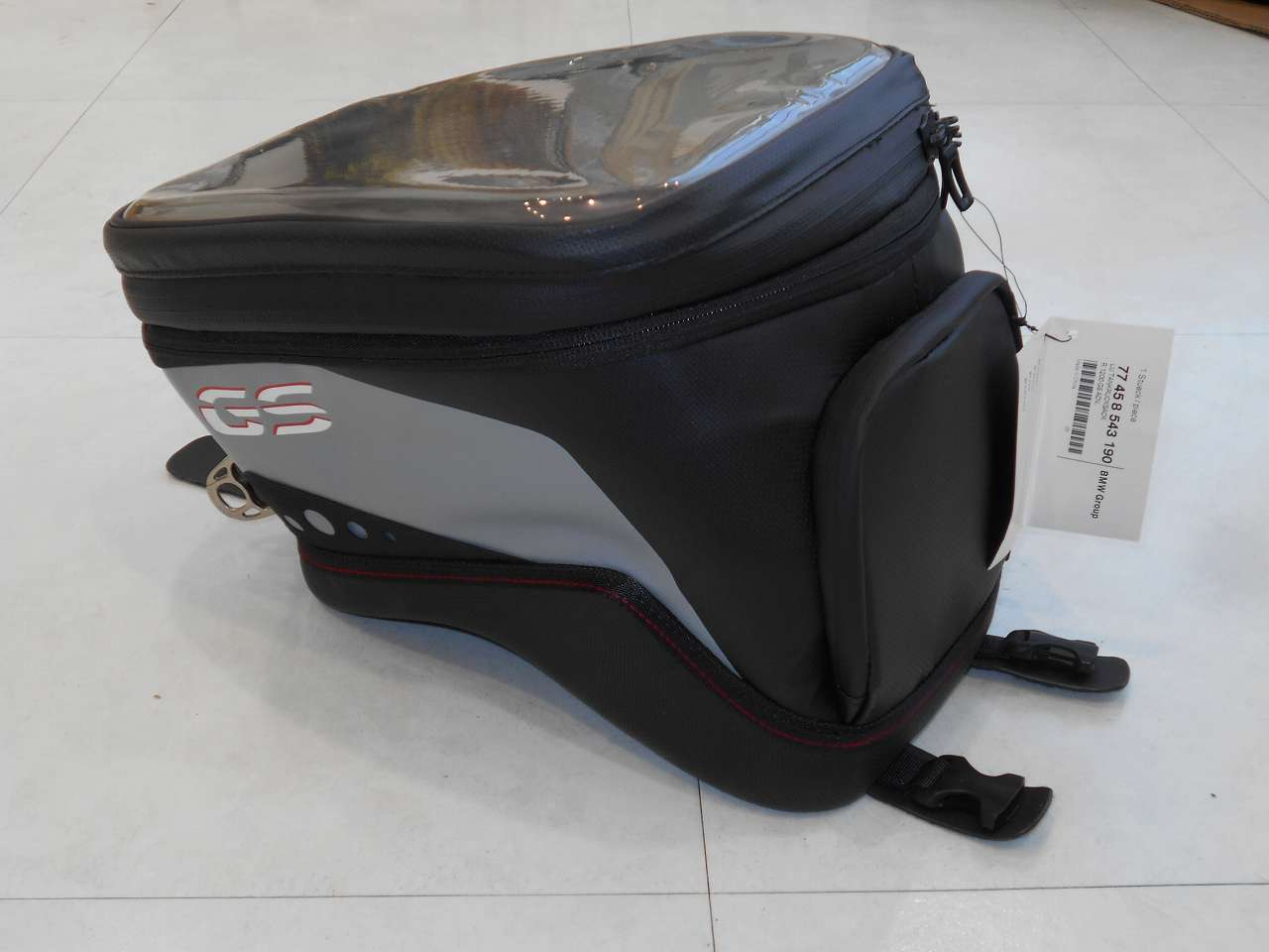 店頭展示品販売 BMW純正タンクバッグ/水冷R1200GSとR1250GSのアドベンチャー専用品