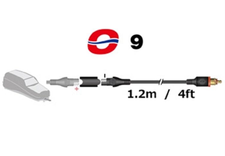 オプティメート4デュアルプログラム充電器用CAN-Bus車輛接続ヘラープラグコード
