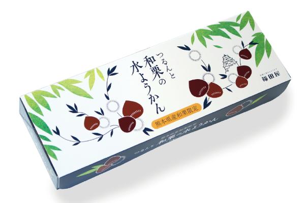 つるんと 和栗の水ようかん(3個入り)