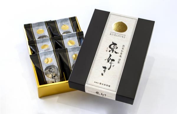【新発売】 熊本和栗庵 謹製 栗好き(6個入り)
