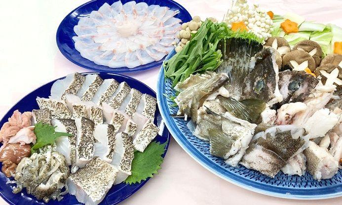 天然 クエ鍋セット 壱岐産 1.2キロセット/5〜6人前