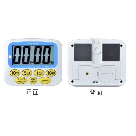 佐藤計量器SATOデカタイマーTM-19LS No.1709-02