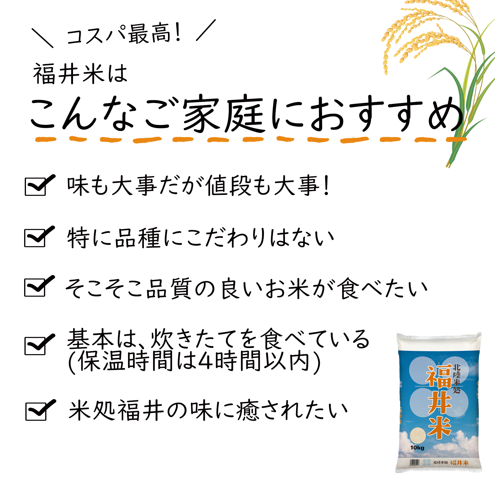 福井米 白米 24kg(8kg×3) 福井県産米100%ブレンド米