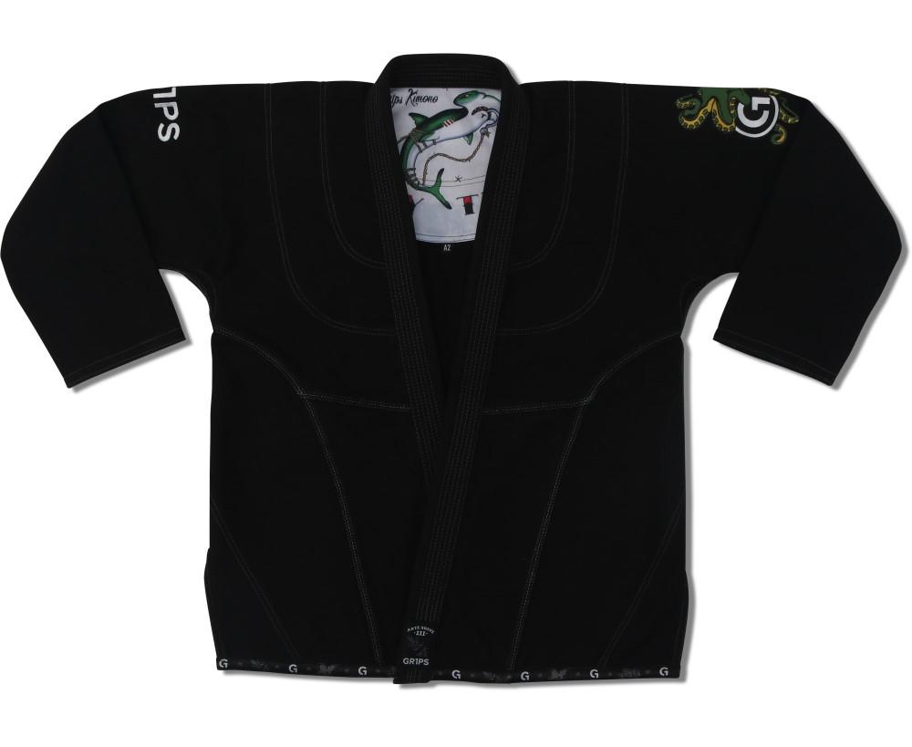 GR1PS 柔術衣 アーテ・スアヴェ� 黒
