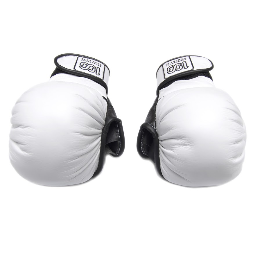 100A MMA POUNDING GLOVES WHITE
