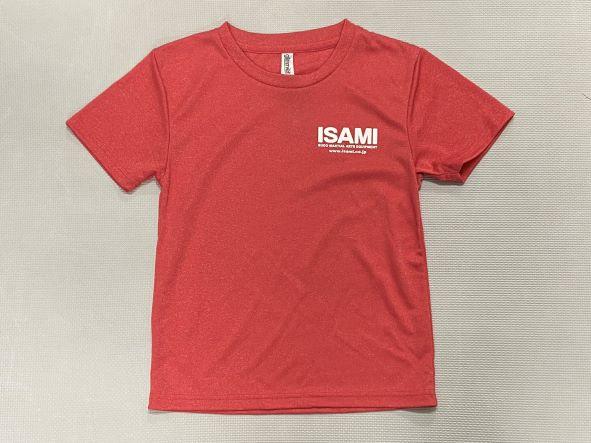 福岡イサミオリジナル ISAMIドライTシャツ(ミックス)(ジュニアサイズのみ)