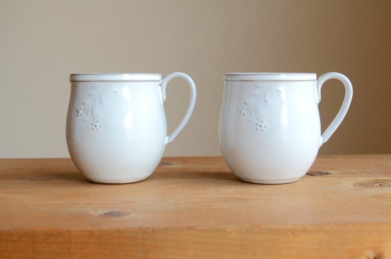 丸マグカップ(風花):ミルクシリーズ