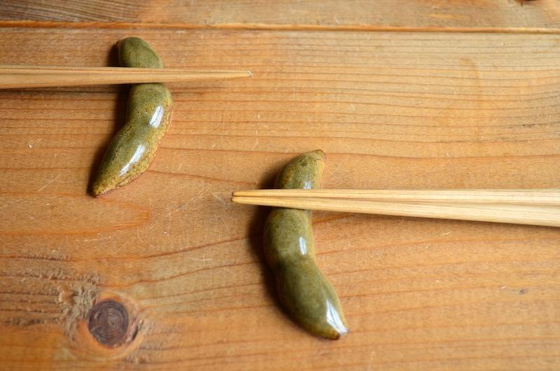 お箸置き:黒豆