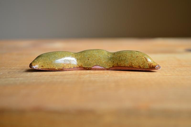 ギフト:お箸置きのセット(れんこん3個&黒豆3個)