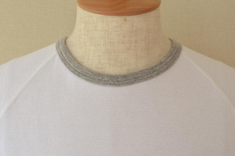 Kepani ケパニ Ringer T 半袖Tシャツ(カラー:01.ホワイト)
