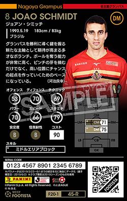 【ランクアップ済み】【F20-1  045-R】ジョアン・シミッチ ★3 CC