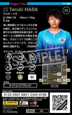【F20-3  048】テルキ・ハラ ★1 LC