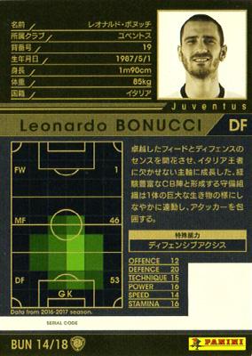 ★【16-17 Ver.2.0 /  BUN 14】レオナルド・ボヌッチ