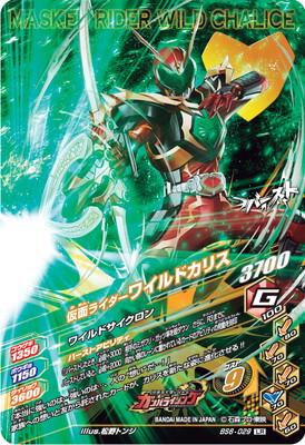 BS6-029 仮面ライダーワイルドカリス LR