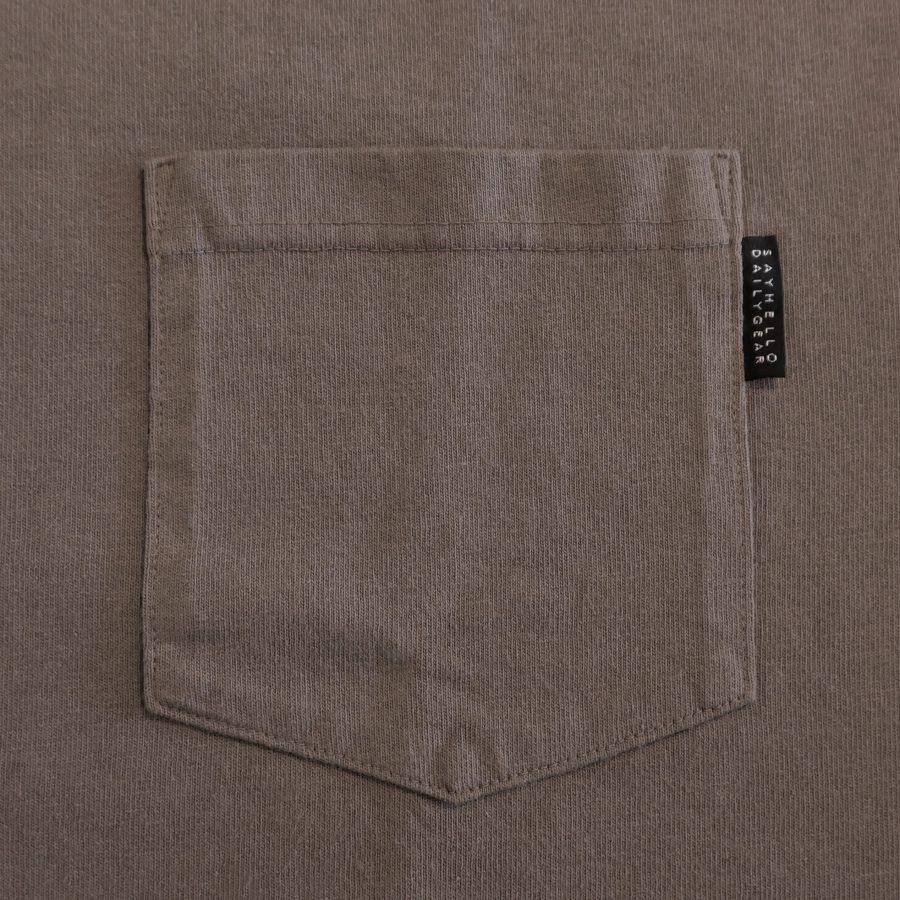 SAYHELLO : Daily Pocket Long Sleeve Tee