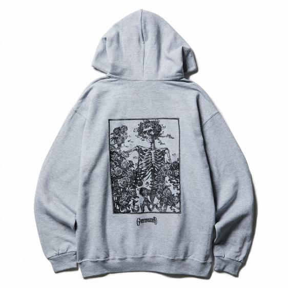 CLUCT × GRATEFUL DEAD : SKELETON AND ROSES PARKA