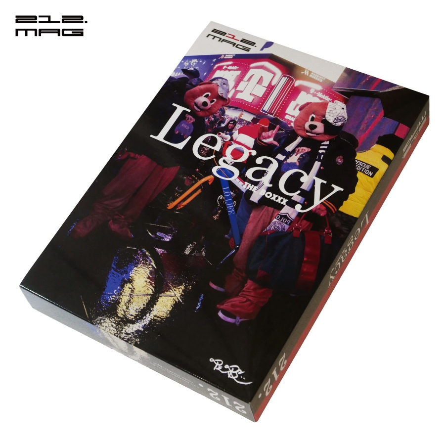 """212.MAG : """"Legacy The BOXXX"""" -2nd edition-"""