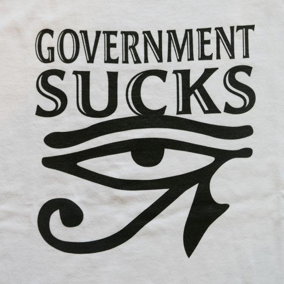 DUPPIES : GOV SUCKS SS TEE