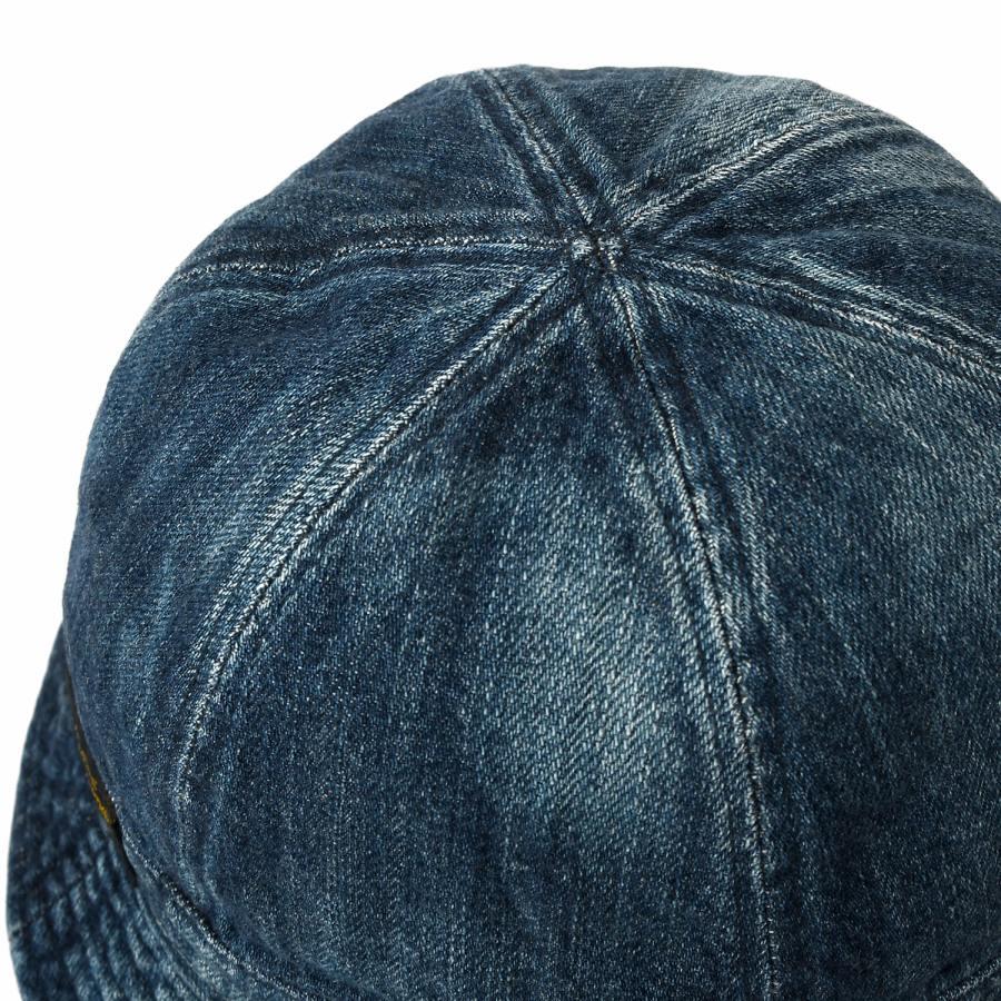 LFYT : WASHED DENIM REVERSIBLE METRO HAT