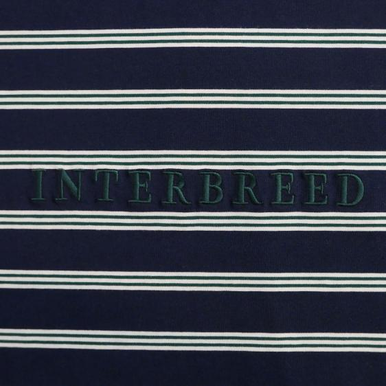 INTERBREED : Logo Border LS Tee