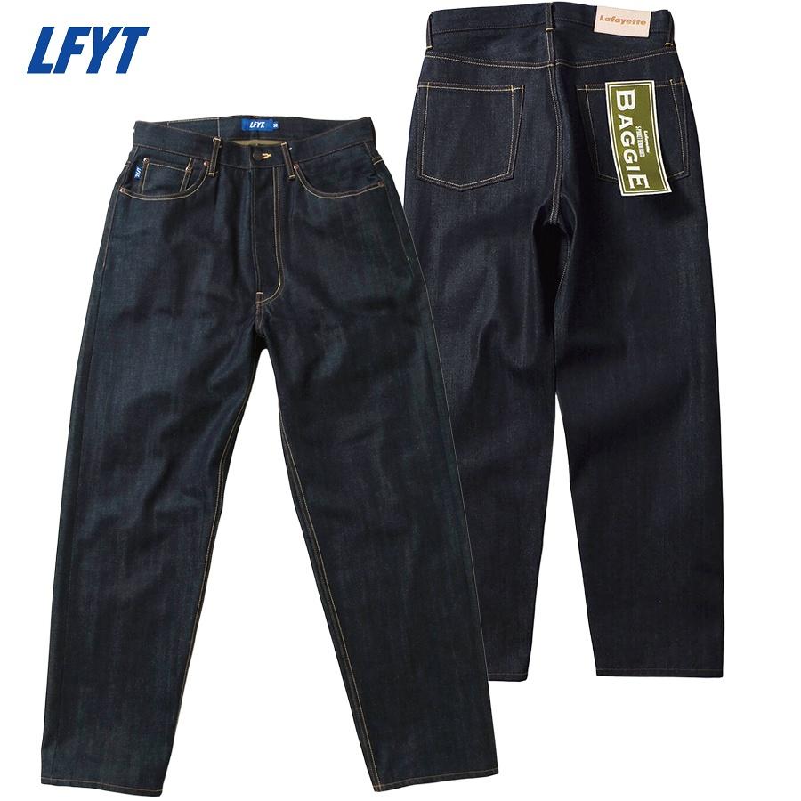 LFYT : 5 POCKET DENIM PANTS BAGGIE FIT