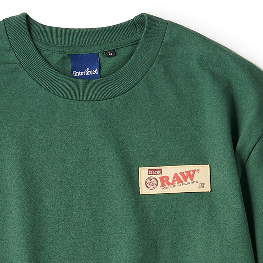 "INTERBREED : RAW × INTERBREED ""RAW Organic LS Tee"""