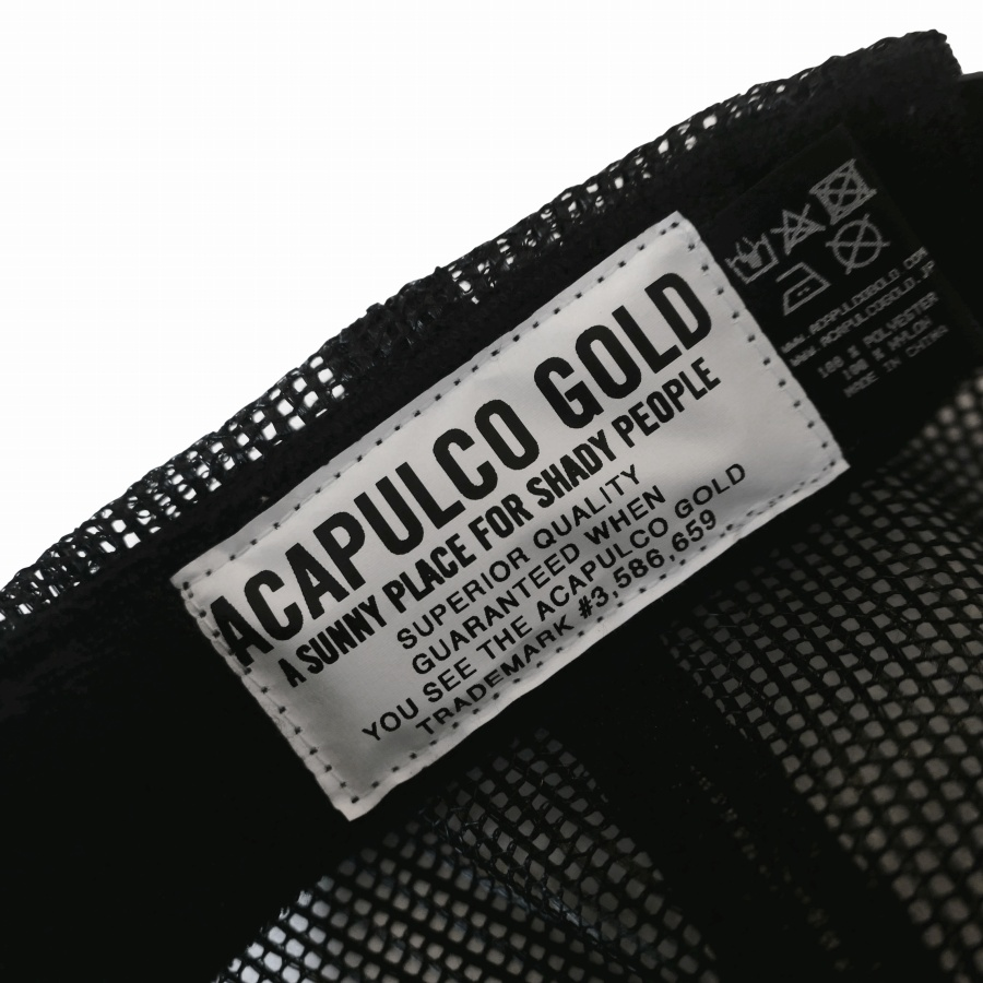 ACAPULCO GOLD : COMPANY TRUCKER CAP