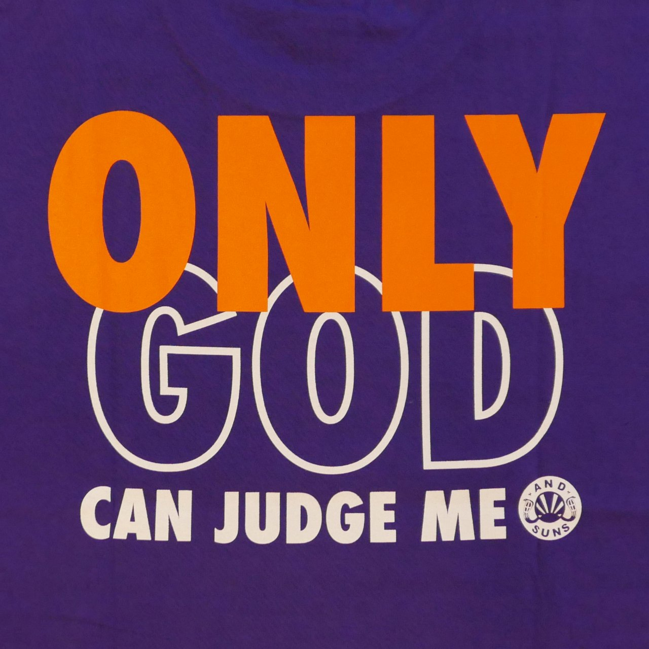 ANDSUNS : ONLY GOD LS TEE 2