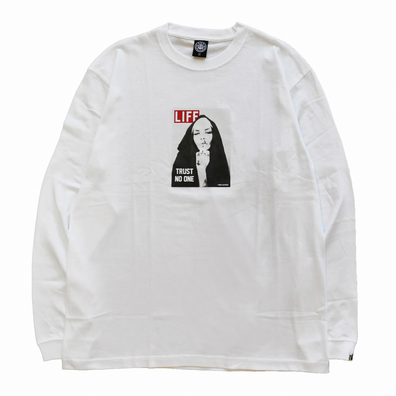 ANDSUNS : TRUST NO ONE LS TEE