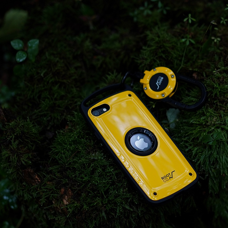 ROOT CO. : [iPhone SE 2020専用] GRAVITY Shock Resist Case Pro. (BLACK)