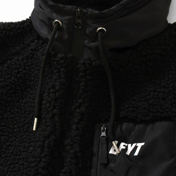 LFYT : SHERPA FLEECE ZIP PARKA