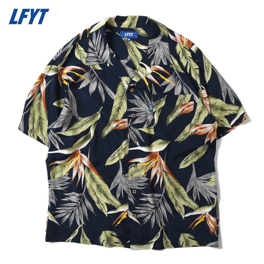 LFYT : BIRD OF PARADISE ALOHA SHIRT