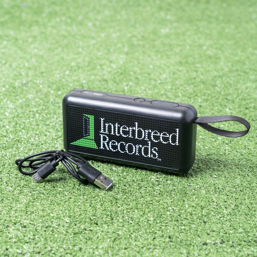 INTERBREED : Green Studio Bluetooth Speaker