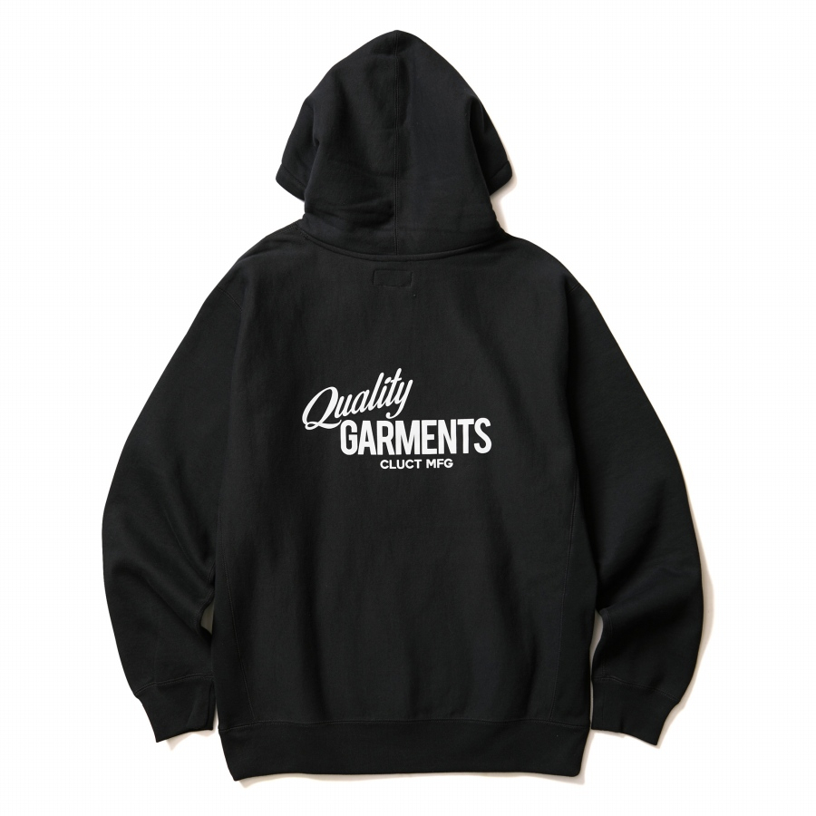 CLUCT : QUALITY GARMENTS [HOODIE]