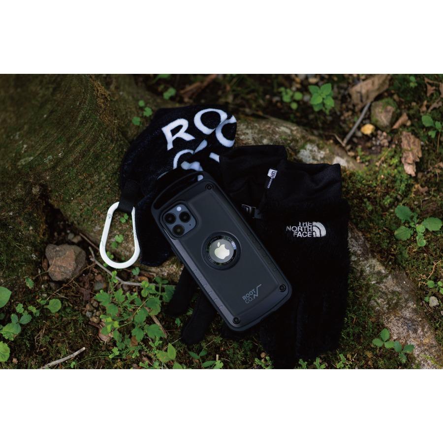 ROOT CO. : [iPhone12/12Pro専用] GRAVITY Shock Resist Case Pro. (BLACK)