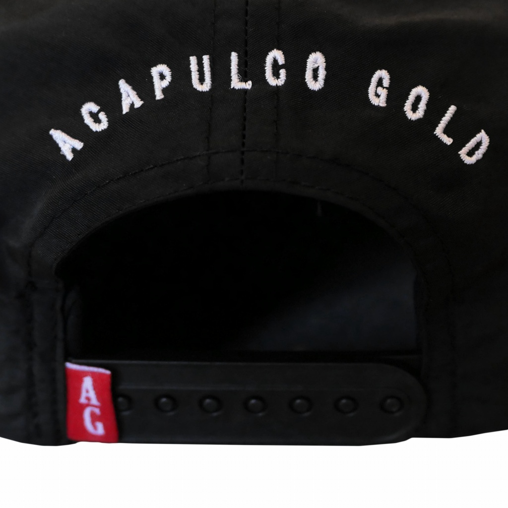 ACAPULCO GOLD : FOOL ME ONCE 5-PANEL DRY NYLON CAP