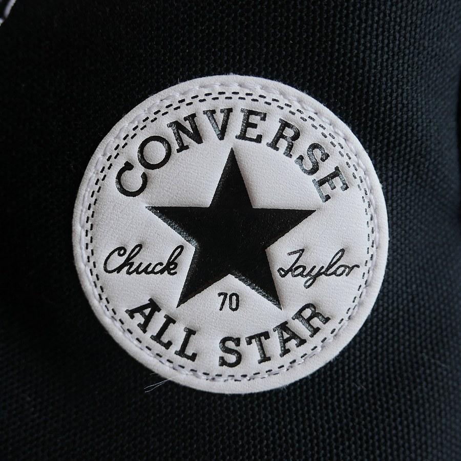 CONVERSE : CT70 HI (Black/Black/Egret)