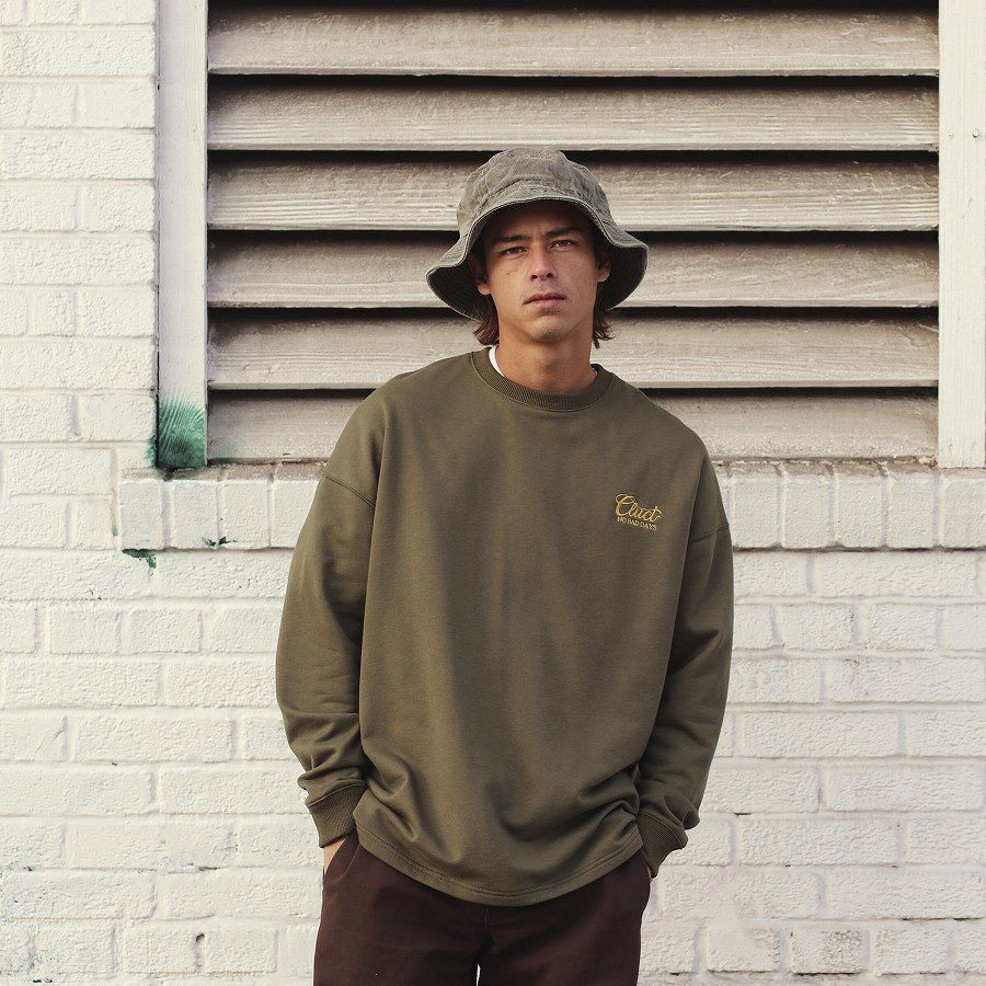 CLUCT : VIBRANT [L/S SWEAT TOP]